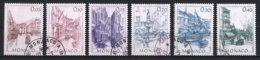 Monaco 1984 : Timbres Yvert Et Tellier N° 1404 - 1405 - 1406 - 1407 - 1408 - 1409 - 1410 Et 1411 Oblitérés. - Gebruikt