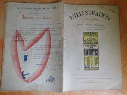 L'illustration, Théatrale, 199, 20/01/1912, Publicité Michelin  (Box5) - Theater