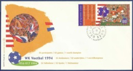 NETHERLANDS SPECIAL COVER MNH 1994 SPORTS GAMES - Poststempels/ Marcofilie