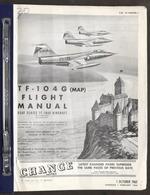 Aeronautica Aircraft - USAF - F-104 G - Flight Manual - 1964 - Livres, BD, Revues