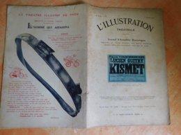 L'illustration, Théatrale, 232, 01/02/1913, Publicité Michelin  (Box5) - Theater