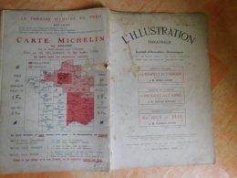 L'illustration, Théatrale, 185, 22/07/1911, Publicité Michelin  (Box5) - Autres