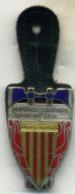 Insigne Sapeur Pompier, Dpt Pyrènees Orientales___drago - Pompiers
