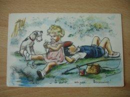 Germaine Bouret Illustrateur Peche Il Dort Un Peu Beaucoup 1949 Edi M D - Bouret, Germaine