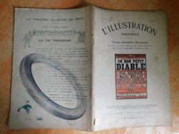 L'illustration, Théatrale, 202, 10/02/1912, Publicité Michelin  (Box5) - Theater