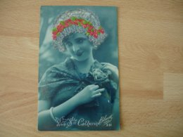 Carte Sainte Catherine Bonnet Broderie - Sint Catharina