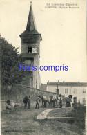54 - Domevre - Eglise Et Presbytère - 1915 - Domevre En Haye