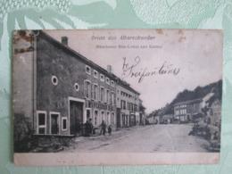 Gruss Aus Alberschweiller . Munchener Bier Lokal Und Kasino - France