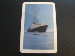 USSR Soviet Russia  Pocket Calendar Morflot Ship 1968 - Calendars