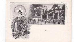 Exposition D'Horticulture Aux Bastions Du 12 Au 17 Juin 1907 ; GENEVE , Switzerland - GE Ginevra