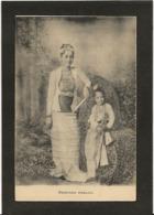 CPA Birmanie Princesses Non Circulé Royalty Types - Myanmar (Burma)