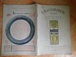 L'illustration, Théatrale, 206, 09/03/1912, Publicité Michelin  (Box5) - Theater