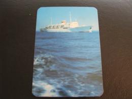 USSR Soviet Russia  Pocket Calendar Morflot Ship 1973 - Kalenders