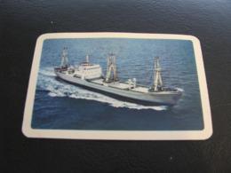 USSR Soviet Russia  Pocket Calendar Morflot Ship 1974 - Kalenders
