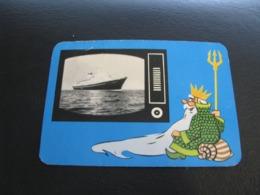 USSR Soviet Russia  Pocket Calendar Morflot Ship 1971 - Kalenders