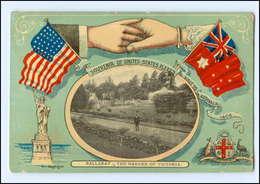 U8344/ Melbourne Tee Garden Of Victoria  -  USA Und Australien  1910 AK - Cartes Postales