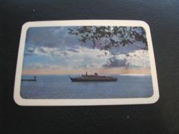 USSR Soviet Russia  Pocket Calendar Morflot Ship 1969 - Calendriers