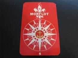 USSR Soviet Russia  Pocket Calendar Morflot Ship 1972 - Kalenders