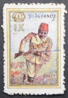 Great Britain 1916 Military Vignette 9th Sudanese, Egypt - Cinderellas