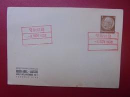 3eme REICH 1938 - Storia Postale