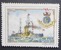 Great Britain 1916 Military Vignette HMS Hibernia - Cinderellas