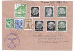 """Alsace - Bas-Rhin - HAGUENAU – Vers ANNWEILER - """"Sammler-Marken""""- Mixte - 1941 - Alsace-Lorraine"""