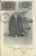 MAURITANIE - Femmes De Chefs Maures (voyagée) - Mauritania