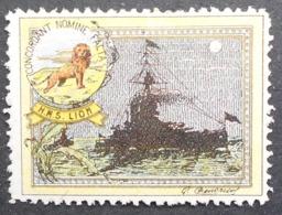 Great Britain 1916 Military Vignette HMS Lion - Cinderellas
