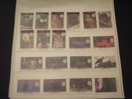 GRENADA - 1995 FAUNA/SIERRA CLUB 9 + 9 VALORI - NUOVI(++) - Grenada (1974-...)