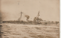 *** MILITARIA ***  Bâteaux De Guerre - Catastrophe Maritime ??? Photo Carte   -- Neuve/unused TTBE - Krieg