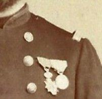CDV Vers 1870-officier De Marine? Médaillé-photo Walery à Marseille - Oorlog, Militair