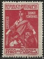 Portugal 1925 Postal Tax Stamps PT2 Charaty  MNH - Post