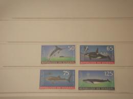SENEGAL - P.A. 1972 PESCI 2 + 2 VALORI - NUOVI(++) - Senegal (1960-...)