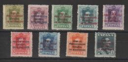 Maroc Espagnol 1923 Yv 95 à 103 Sauf 100A 9 Val ** MNH - Marruecos Español