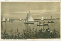 Paterswolde 1928; Zonnige Dag Op Het Meer - Gelopen. (H.W. Mulstege - Paterswolde) - Otros