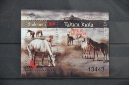 I 140 ++ INDONESIA 2014 HORSES PAARDEN PFERDE CHEVAUX MNH ** - Indonesië