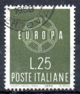 ITALIE. N°804 Oblitéré De 1959. Europa'59. - 1959