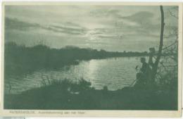 Paterswolde 1928; Avondstemming Aan Het Meer - Gelopen. (H.W. Mulstege - Paterswolde) - Otros