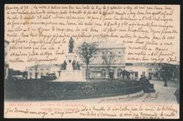 GARE DU LUXEMBOURG  STATUE JOHN COCKERILL - Spoorwegen, Stations