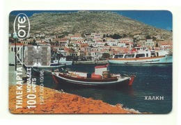 Grecia - Tessera Telefonica Della Grecia Da 100 Units - T631 - Barche