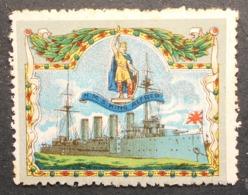 Great Britain 1916 Military Vignette HMS King Alfred - Cinderellas