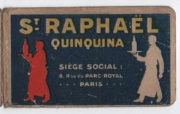 Petit Carnet Publicitaire/ Saint Raphaël Quinquina/( Sans Cahier) / Vers 1930        VPN240 - Altri