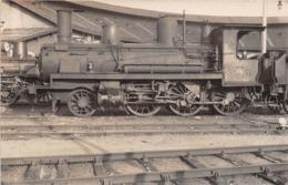 ¤¤  -  Carte-Photo D'une Locomotive - Chemins De Fer - Machine N° 1819  - Train En Gare  -  ¤¤ - Trains