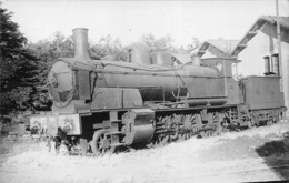 ¤¤  -  Carte-Photo D'une Locomotive - Chemins De Fer -  - Train En Gare  -  ¤¤ - Trains