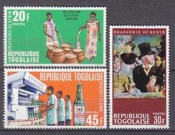 D0290 - TOGO Yv N°569/71 ** BRASSERIE - Togo (1960-...)