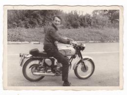 "MOTOCICLETTA - MOTO - MOTORCYCLE - "" GILERA "" - FOTO ORIGINALE - Automobili"