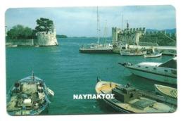 Grecia - Tessera Telefonica Della Grecia Da 100 Units - T633 - Barche