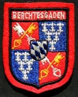 Patch Écusson Tissu Touristique : Allemagne - BERCHTESGADEN - Nid D'Aigle - Adolf Hitler - Blason - Ecussons Tissu