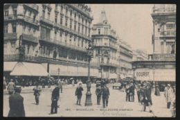 BRUXELLES  LOULEVARD ANSPACH - Avenues, Boulevards