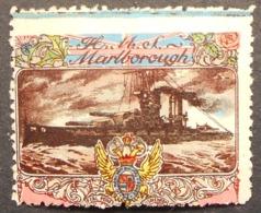 Great Britain 1916 Military Vignette HMS Marlborough - Cinderellas